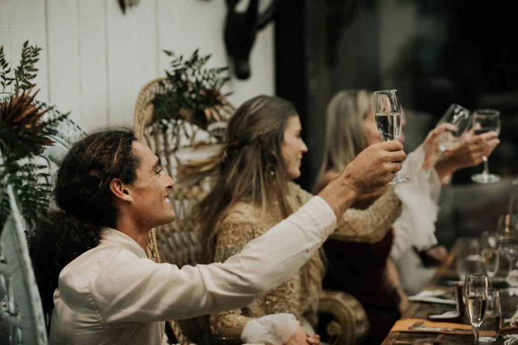 Fashion Wedding in Plett for Manu and Ash