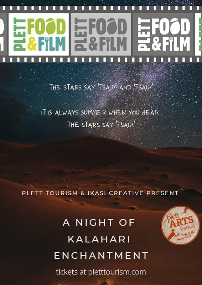 Plett Food and Film - A Night of Kalahari Enchantment