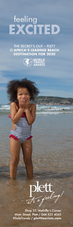 Plett is Africa's Leading Beach Destination 2020