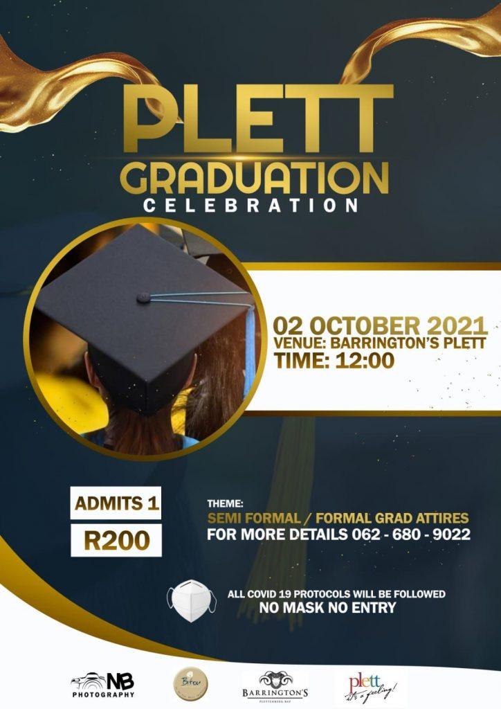 Plett graduation event