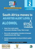 Level 2 Covid Regulations from 13 September 2021